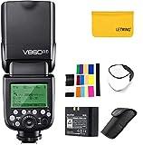 GODOX V860II-F 2.4G TTL - Flash de cámara de litio compatible con cámara Fujifilm X-Pro2 X-T20 X-T1 X-T2 X-Pro1 X100F