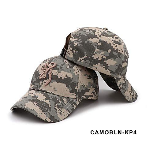 coil.c Camouflage Army Cap Männer Baseballkappen Sport Hut, Baseball Caps Für Herren, Unisex Fangkappen Schirmmützen Für Outdoor-Aktivitäten Wie Angeln, Camping Und Jagd Verwendet Werden