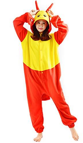 Unisex Animal Pijama Ropa de Dormir Cosplay Kigurumi Onesie Langosta Disfraz para Adulto Entre 1,40 y 1,87 m
