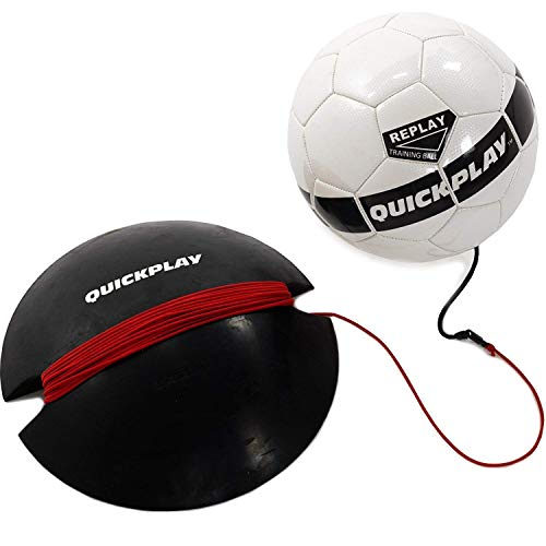 QUICKPLAY Replay Soccer Training Ball Size 4 | Adjustable...