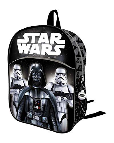 Mochila Infantil 3D Star Wars Darth Vader Y STORMTROPERS 32 CM