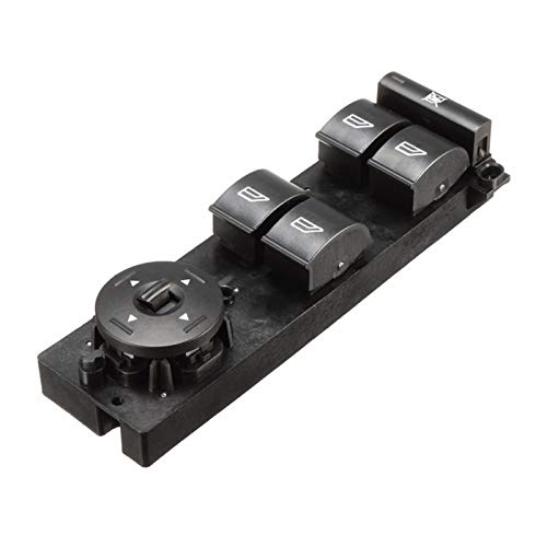 ZHENGYI 3M5T-14A132-3M5T14A132AP Interruptor de Ventana eléctrica Ajuste la Derecha para Ford Focus 04-14 C-MAX 07-14 (Color : Black)