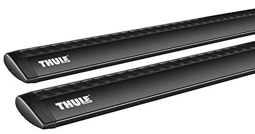 Thule 969200 Wingbar Aerodinamiche, Nero, 118 cm, 2 Pezzi