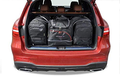 KJUST Dedizierte Taschen 4 STK Set kompatibel mit Mercedes-Benz GLC X253 2015 -