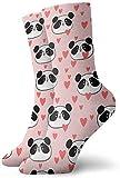 tyui7 Niños Niñas Locos Divertido Rosa Animal Panda Amor Patrones de corazón Calcetines Calcetines lindos de vestir de novedad