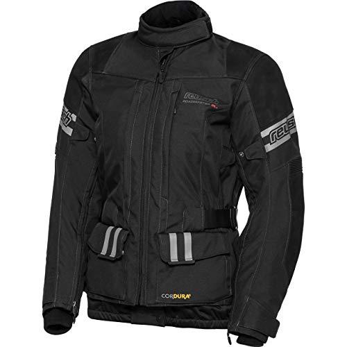 Reusch Motorradjacke mit Protektoren Motorrad Jacke Roadmaster DL+ Damenjacke schwarz XL, Tourer, Ganzjährig, Leder/Textil