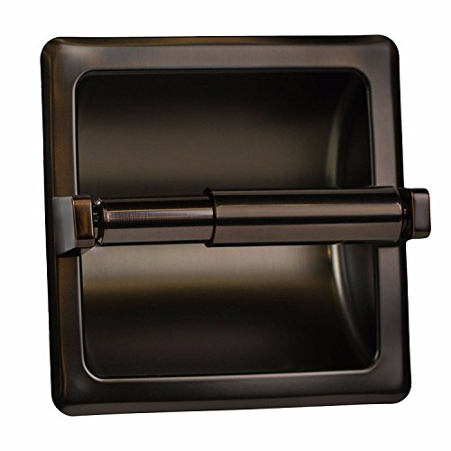 Top 10 best selling list for arista oil rubbed bronze recessed toilet paper holder