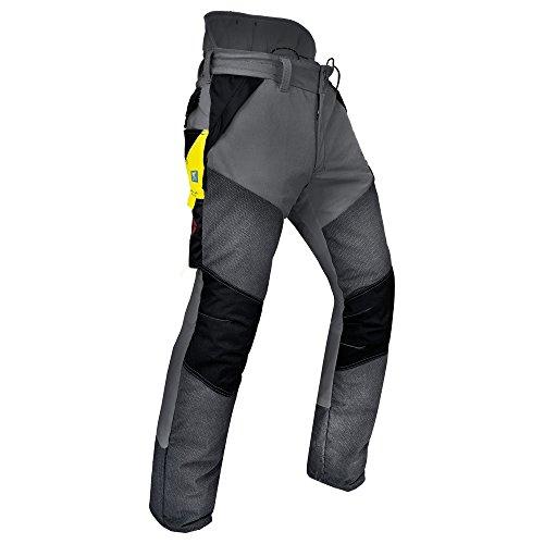 Pfanner Schnittschutzhose Kev-Extrem Klasse 1, Größe:XS, Farbe:grau