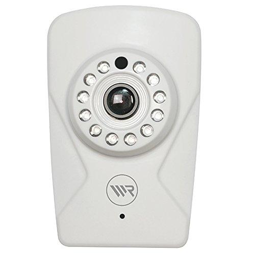 Rademacher 4716742 IP-Kamera LAN-WLAN mit IR-LEDs 9483, Weiß