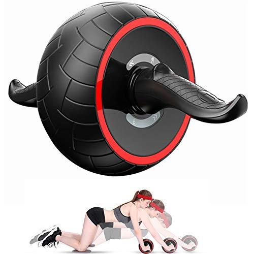 GuangLiu Bauchtrainer Gerät Roller Bauchroller Krafttrainingsgeräte Abs Cruncher Für Männer Ab Trainer Machine Heimfitnessgeräte Abdominal Exercise Roller