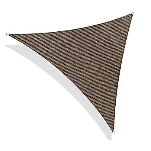 Aosong Toldo Vela De Sombra Triangular, Protección Rayos UV Impermeable para Patio, Exteriores, Jardín