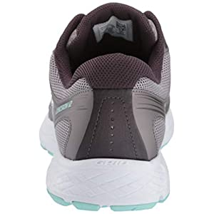 Saucony Women's VERSAFOAM Cohesion 12 Road Running Shoe, Grey/Teal, 9 M US