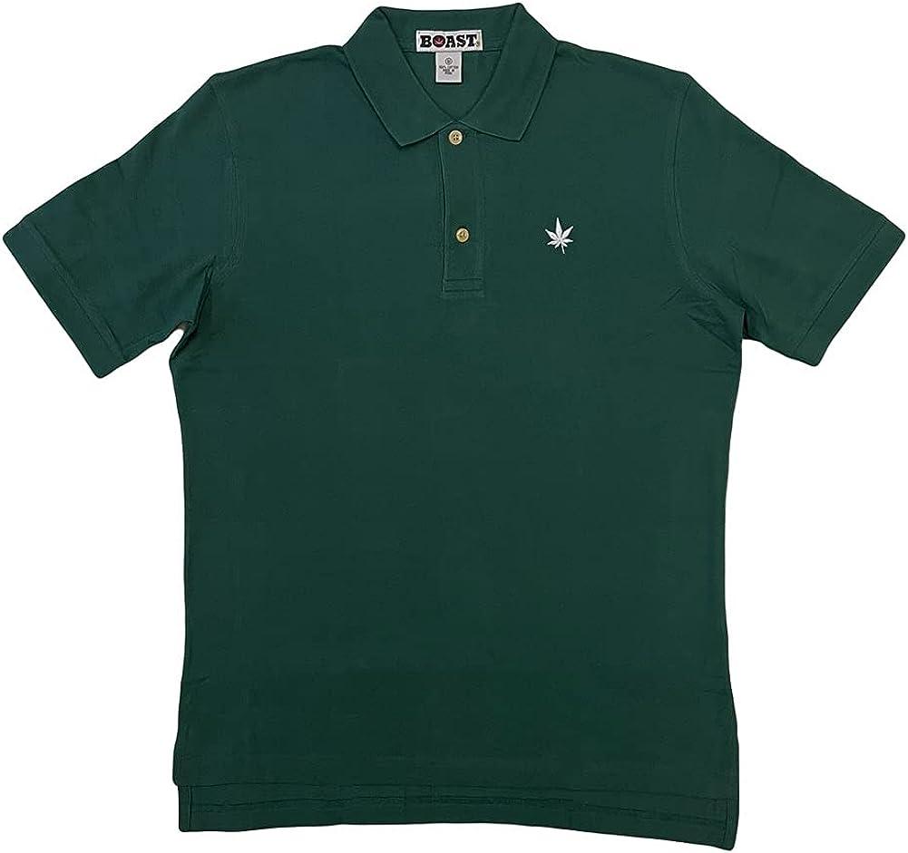 Boast Men's Core Pique Polo Shirt