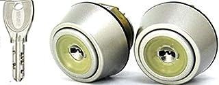 YKK FESP向け 2個同一 PSシリンダー 断熱仕様 YKK 玄関 品番:HH-4K-14524