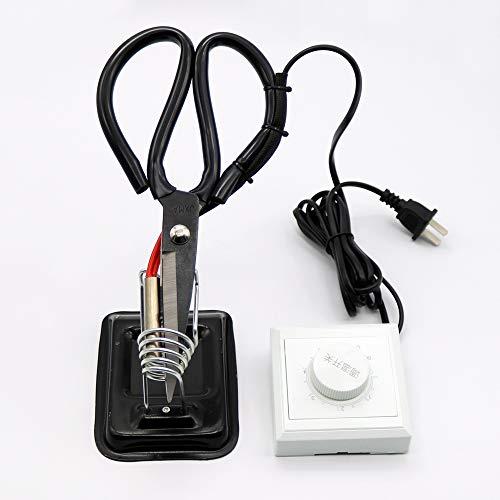 Tijeras de sastre de calefacción eléctrica ajustables de 1 pieza con interruptor...