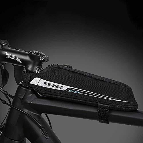 perlo33ER 0.4L Radfahren Mountainbike Frontschlauch Top Tasche Fahrrad Frontstrahl Aufbewahrungstasche