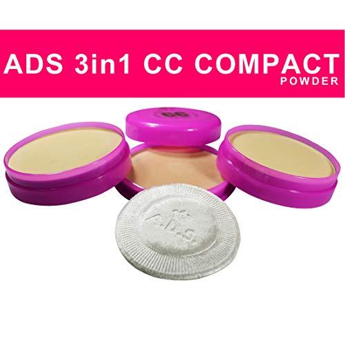 ADS 3 In 1 CC Compact Powder Colour Combination 1124CC...