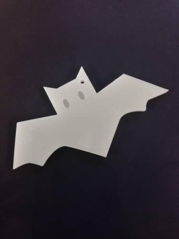 生きる追放する移動するGRASSE TOKYO AROMATICWAXチャーム「コウモリ」(WH) スイートマジョラム アロマティックワックス グラーストウキョウ