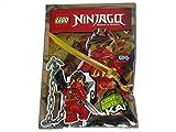 Blue Ocean LEGO Ninjago Kai #2 Juego de papel de aluminio para minifigura 891609 (empaquetado)
