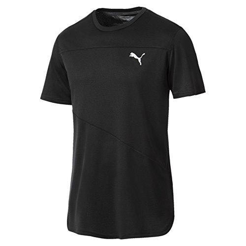 PUMA Ignite S/S Mono Camiseta, Hombre, Black, S