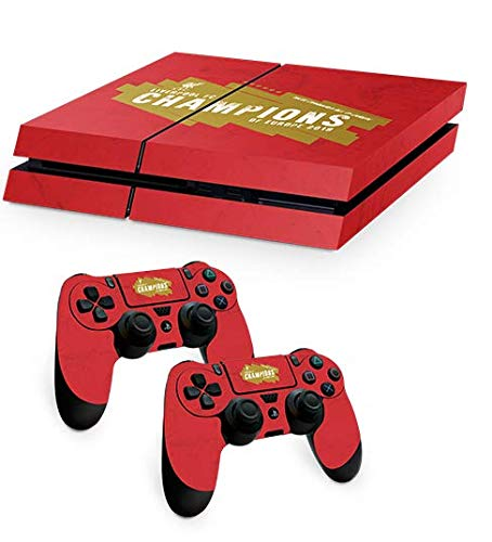 Official Liverpool FC Merchandise Premium Vinyl Water-Resistant Anti-Scratch PS4 Controller Skins - PS4 Controller Accessories in Liverpool Football Club Colours - Liverpool FC Gifts for Men & Women