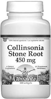 Collinsonia (Stone Root) - 450 mg (100 Capsules, ZIN: 510769)