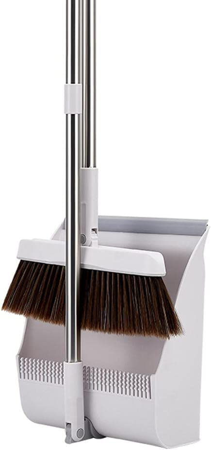 BAWAQAF Household Standing Genuine Broom Dustpan Limited time cheap sale Non Stic Broomstick Set