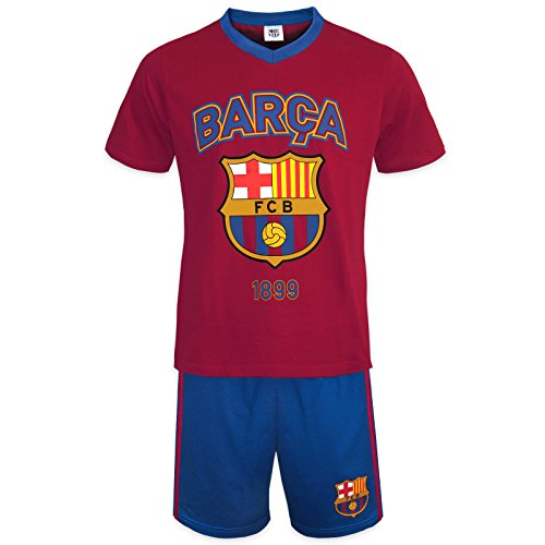 FC Barcelona - Pijama corto para hombre - Producto oficial