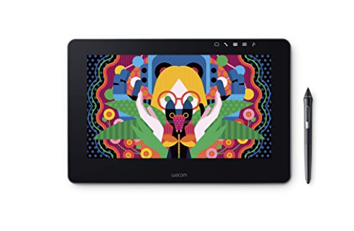 Wacom DTH-1320-UK Cintiq Pro 13 FHD Tablet-PC (Intel Core i5, 8GB RAM, Iris Graphics 550HD, 33,78 cm (13,3 Zoll)) schwarz