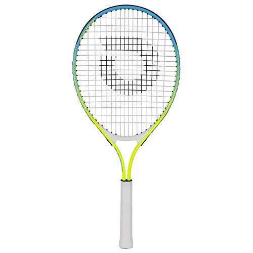 "Geelife Junior Tennis Racquet Carbon Tennis Racket for Beginner Youth Kids Girls Boys (4 3/8 "" Rainbow 25 inch)"