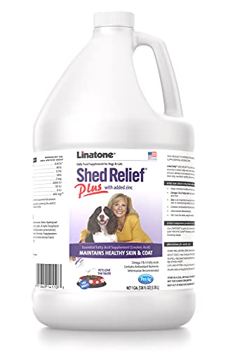 Top 10 best selling list for linatone shed relief food supplement for dogs