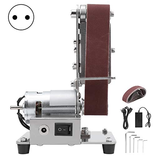 Schleifer,Polierschleifmaschine 775 Multifunktionsschleifer Mini Elektro-Bandschleifer DIY Polierschleifmaschine 110-240 V (EU PLUG)(EU PLUG)