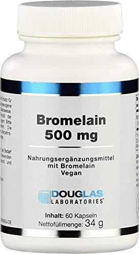 Douglas Laboratories - Bromelain 500 mg - Nahrungsergänzungsmittel mit Bromelain - 60 Veg. Kapseln
