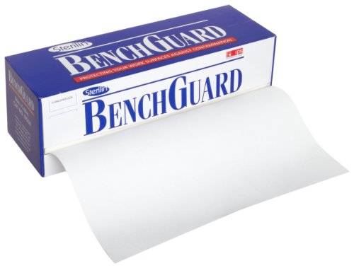 Dynalon 504314-0001 Benchguard Lab Bench Top Protector Roll Dispenser, 50m Length x 49cm Width