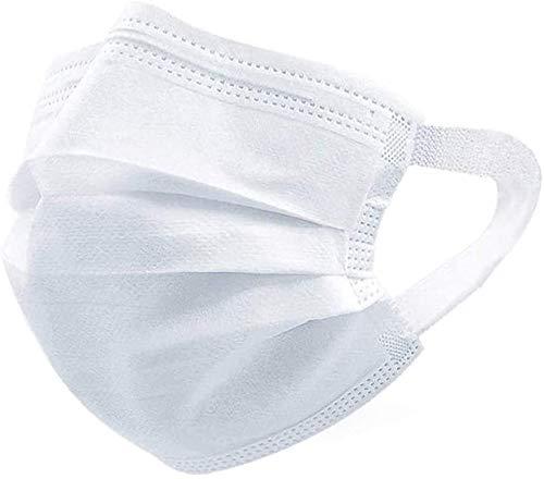 マスク 使い捨て 50枚入 フェイスマスク 不織布マスク 防塵 保護 pm2.5 花粉 男女兼用