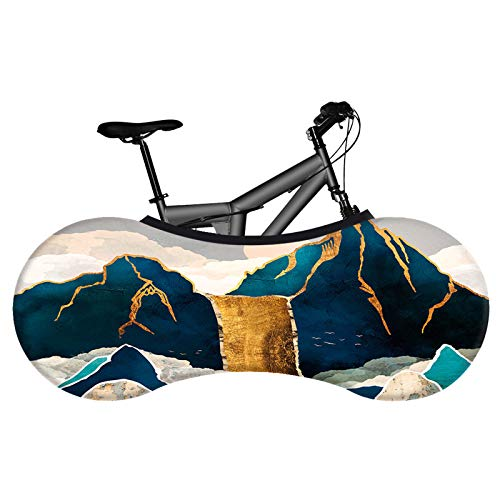 KHXJYC Universal Bicycle Cover, Indoor And Outdoor, Dustproof, Elastic, Keep The Floor And Wall Clean, Suitable For 99% Of All Adult Bicycles,#4