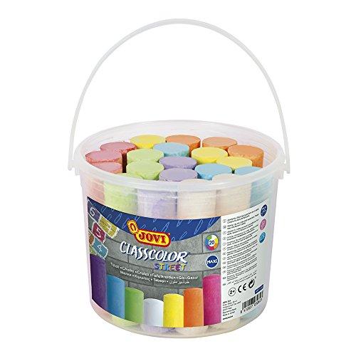 Jovi - Bote, 20 tizas Maxi Classcolor Street, colores surtidos (1130)