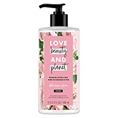 OUR BODY LOTION PROMISE: Love Beauty and Planet Murumuru Butter & Rose Delicious Glow Body Lotion provides incredible moisture benefits that makes skin look and feel gorgeous. 24 HOUR BODY MOISTURIZER: Our Love Beauty and Planet body lotions are mois...