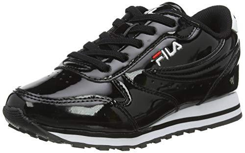 FILA Orbit F kids Sneaker Unisex - Bambini, Nero (Black), 37 EU