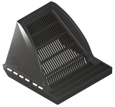 NDS 1200DSG Downspout Defender Catch Basin Grate Self Cleaning Drainage System Shield