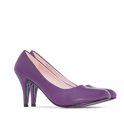 Elegante Pumps in Violett. Gr.35