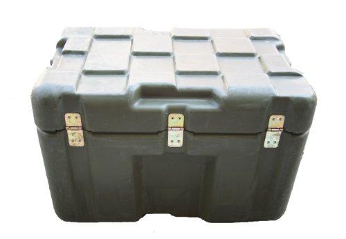 US Transportkiste Munitionskiste Kunststoff oliv gebraucht