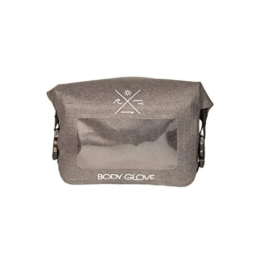 Body Glove Costa Waterproof Hip Pack, Heather Gray, One Size