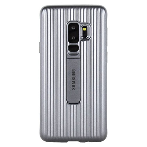 Samsung Galaxy S9+ Protective Standing Cover, Silver