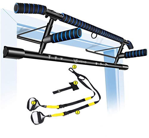 Pull Up Bar Doorway Fitness Chin-Up Frame for Home Gym Exercise with Shortened Handle Bar
