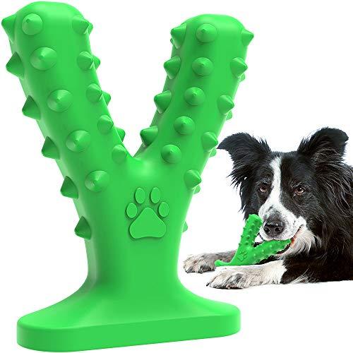 Dog Chew Toys for Aggressive Chewers Medium Large Breed,Tough Dog Toys for Medium Large Dogs,Nearly Indestructible Dog Dental Toys,Dog Chew Toys Dog Toothbrush Doggy Brushing Stick.