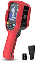 """220 x160 IR Infrared Thermal Imager Camera Rechargeable Handheld, 35200 Pixels Temperature Automatic Tracking Thermal Imaging Camera with 3.5"""" LCD Display, 5 Colors Palette and LED Light"""