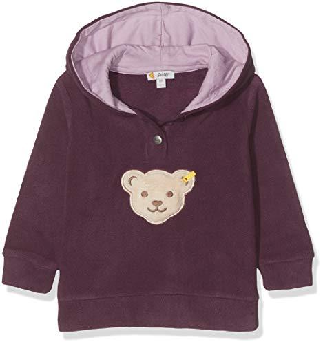 Steiff Baby - Mädchen Sweatshirt , Violett (HORTENSIA 7021) , 86 (Herstellergröße:86)