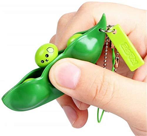 DREZEA-Fidget-ToyFacial-Expressions-Squeeze-Bean-Fidget-Bean-Toy-Perfect-for-Children-and-Adults