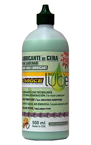 X-Sauce Lubricante de Cera para Cadenas-Eco Lube Lubicante Bicicletas, Hombre, 500ml